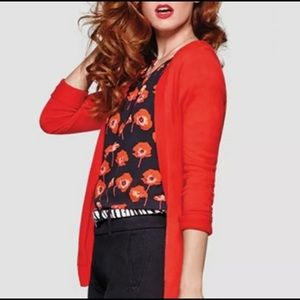 Cabi Flanders Top Blouse Red Poppy 3251 Sz M